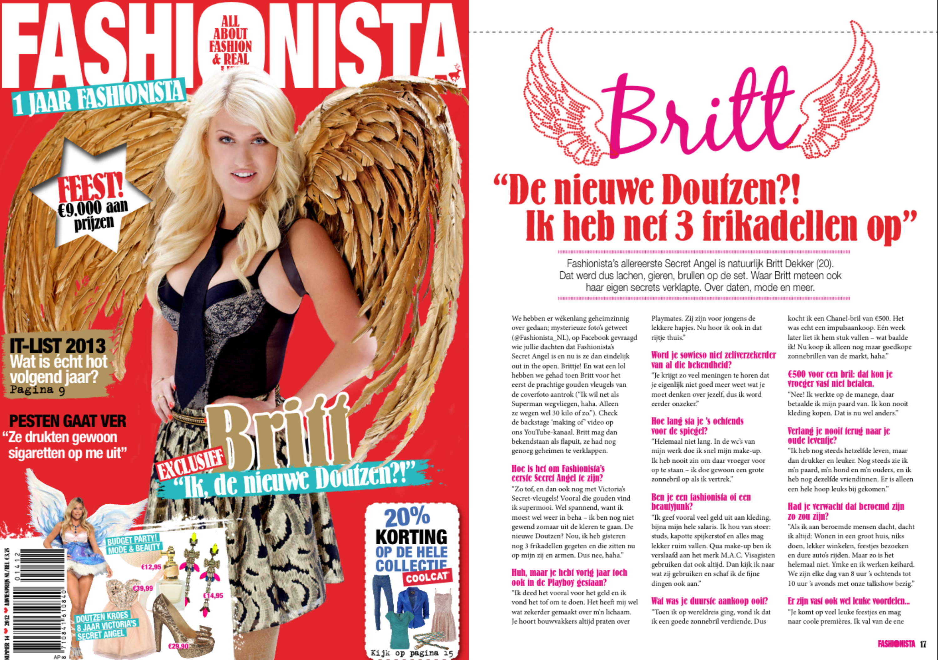 Interview Britt Dekker